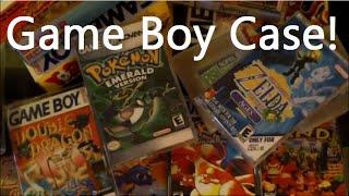 Game Boy Custom Cassette display storage (loose Gameboy games)