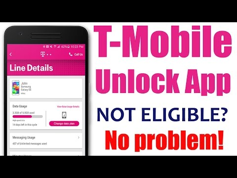 How to use T-Mobile Unlock App method for Samsung Galaxy S7, Edge, S6, Avant, Core, LG Leon