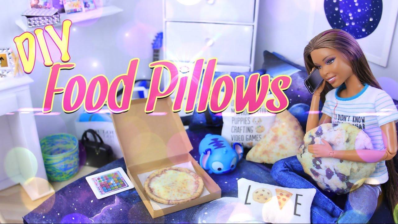DIY - How to Make: Pinterest Craft Food Pillows ...