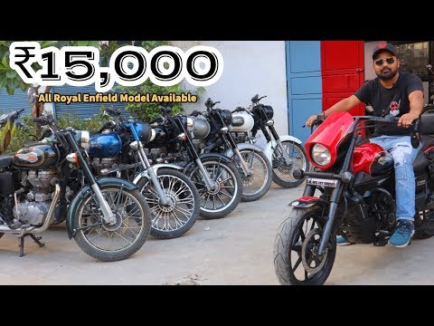Bikes In ₹15000  Bullet  Classic 350  500  Standard  Electra  My Country My Ride