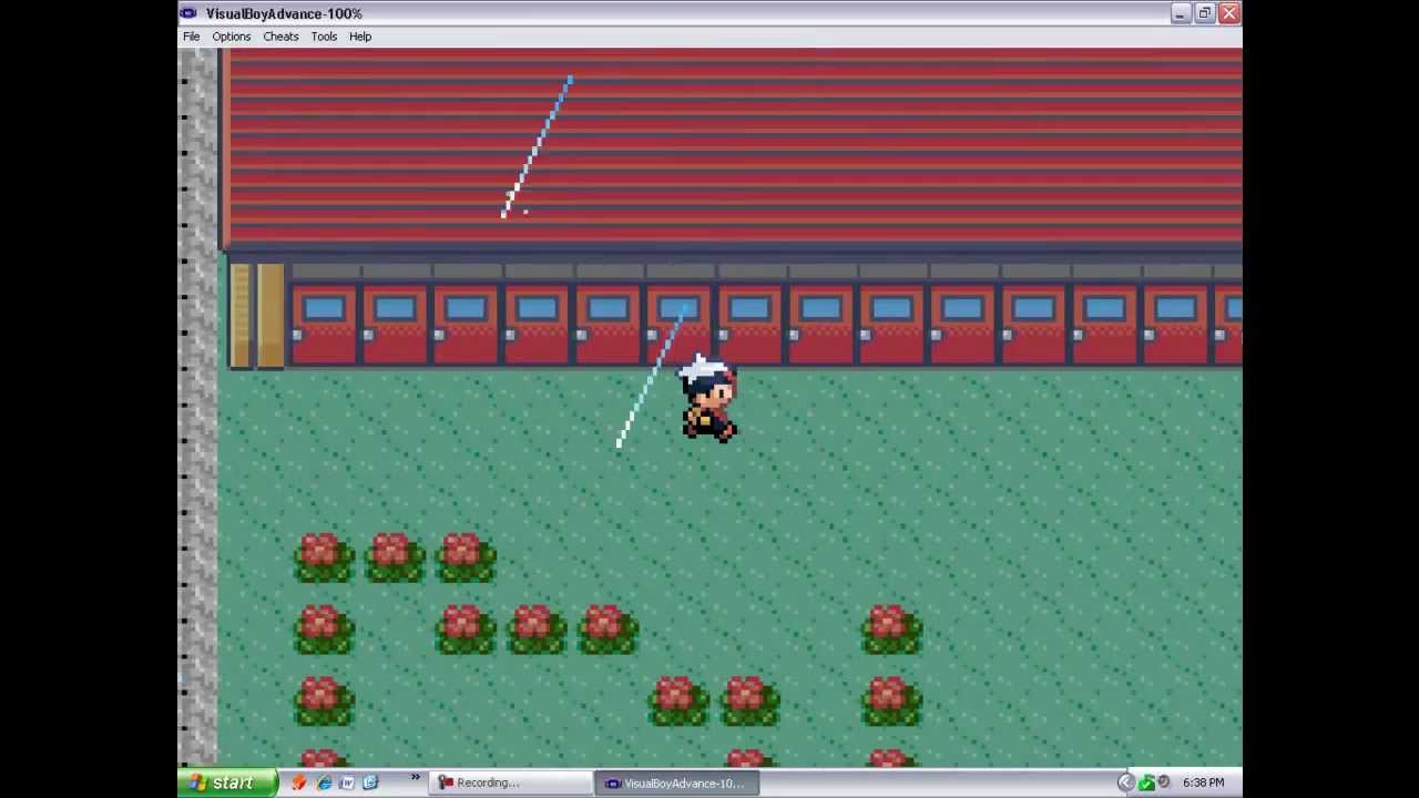 Secret Place In Pokemon Emerald Ruby And Sapphire Youtube