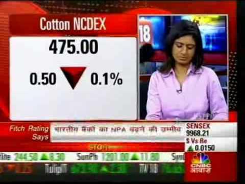Commodity News - Cotton Trades Down