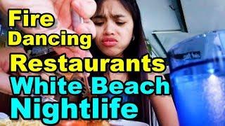 Philippines Happy Times, Restaurants, Fire Dancing, Beach Nightlife Puerto Galera