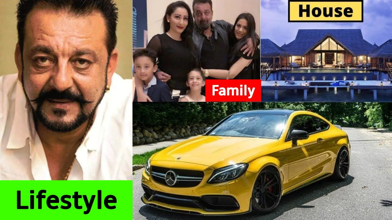 Sanjay Dutt Lifestyle, Girlfriends, Wife, Kids, Family ...