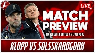 KLOPP TO MASTER BABY-FACED FRAUD? | Man United vs Liverpool Preview