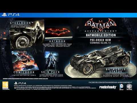 Batman Arkham Knight (Release Date & Collector's Edition)