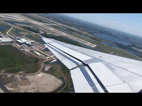 jetBlue Airways Airbus A320-232 Takeoff from Orlando