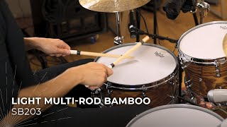 MEINL Stick & Brush Light Multi-Rod Bamboo SB203