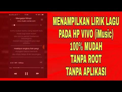 Cara Menampilkan Lirik Lagu di HP Vivo (iMusic) - Lirik Lagu Vivo Music