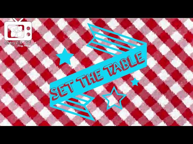 PE Chef S8E4: Set the Table 2.0