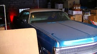 Running after Years in Storage - 1972 Chrysler Imperial LeBaron