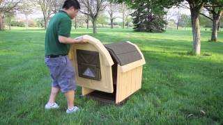 Asl Solutions Dog Palace Insulated Doghouse - Assembly Instructions
