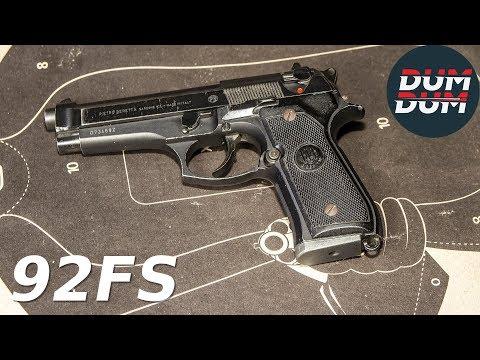 Beretta 92FS opis pištolja (gun review)