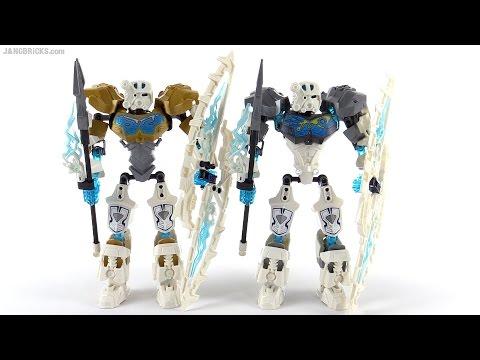 LEGO Bionicle Toa Kopaka 2015 - no gold! - YouTube