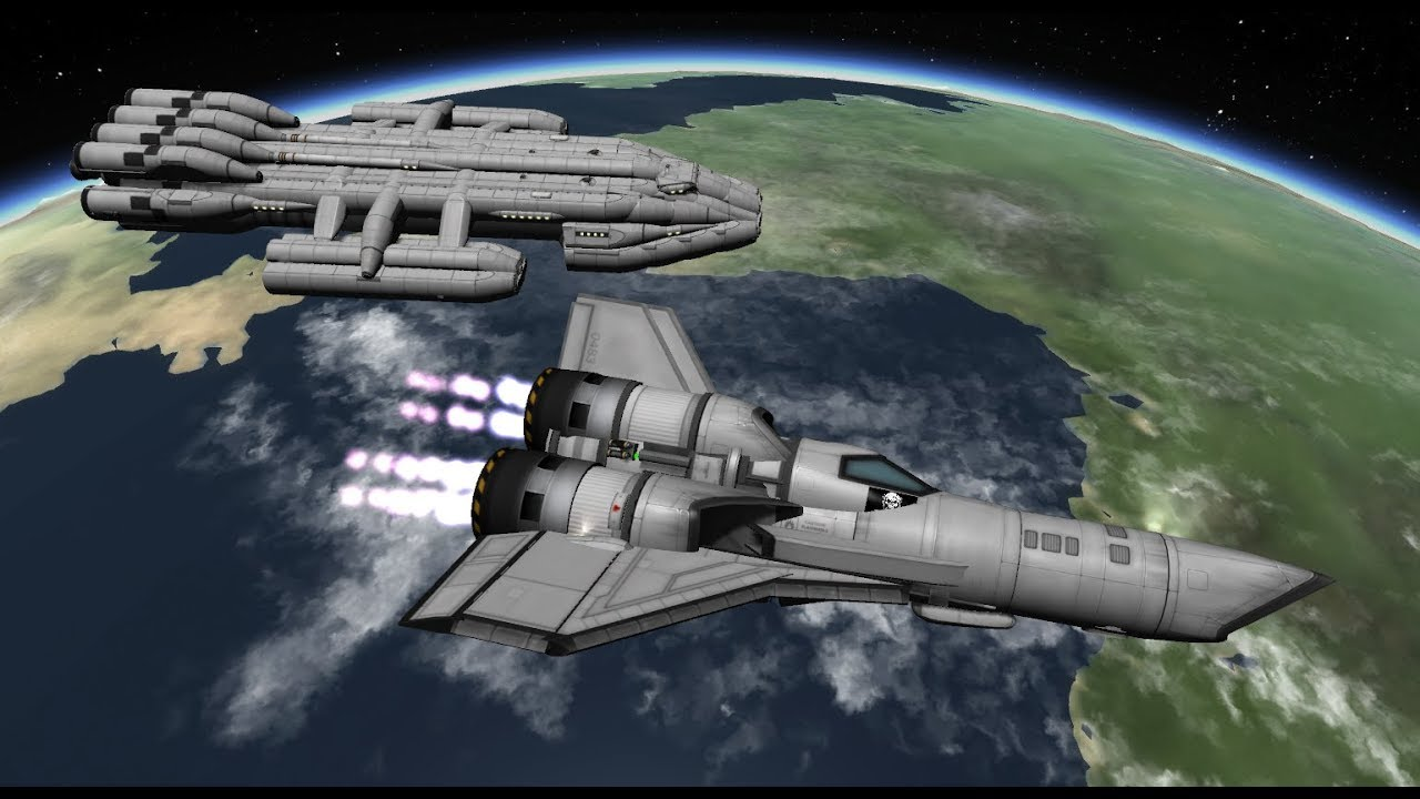 kerbal space program battlestar -#main