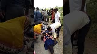 Bundi live accident...by car talera