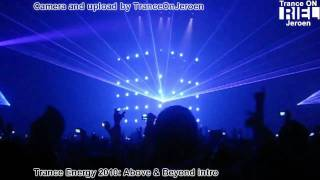 Trance Energy 2010: INTRO Above & Beyond [Mainstage, 3-April-2010]