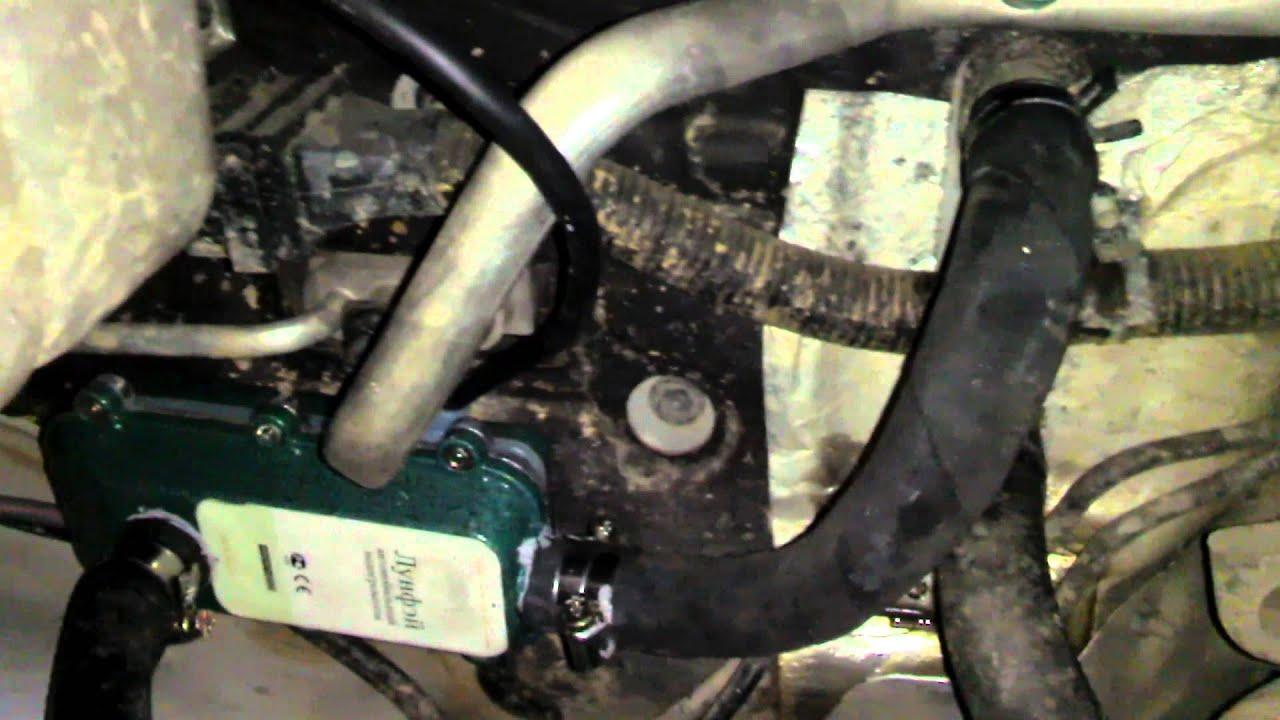 Котел подогрева двигателя