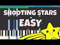 How To Play Shooting Stars EASY Piano Tutorial Bag Raiders mp3