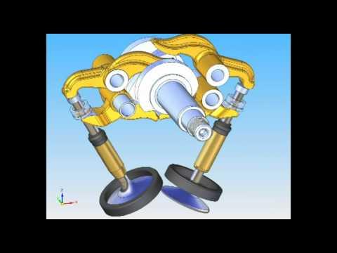 Sistema desmodromico Ducati 2V900