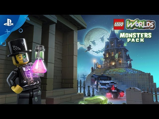 LEGO Worlds - Monsters Pack Official Trailer | PS4
