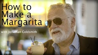 The Most Interesting Man in the World explains how to make a margarita