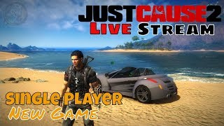 Just Cause 2 Single Player New Game