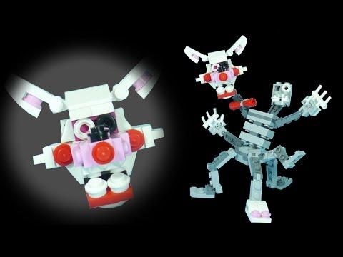 How to Build LEGO Mangle (Phantom & Nightmare) | LEGO FNAF