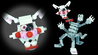 How to Build LEGO Mangle (Phantom & Nightmare) | LEGO FNAF
