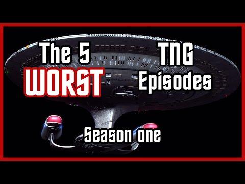 The 5 WORST Star Trek: TNG Episodes [Season 1]