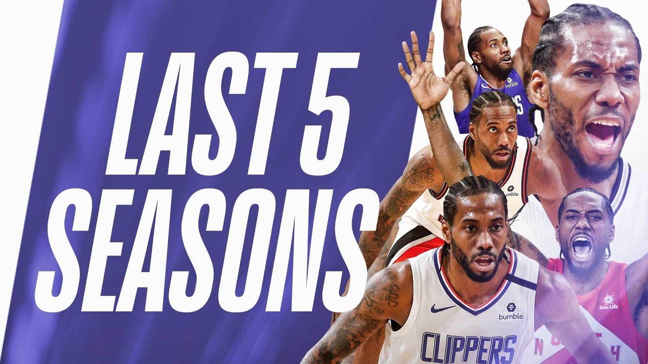 Kawhi Leonard's BEST Steals | Last 5 Seasons