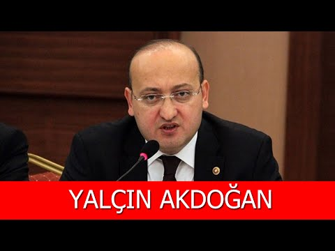 Yalçın Akdoğan Kimdir?