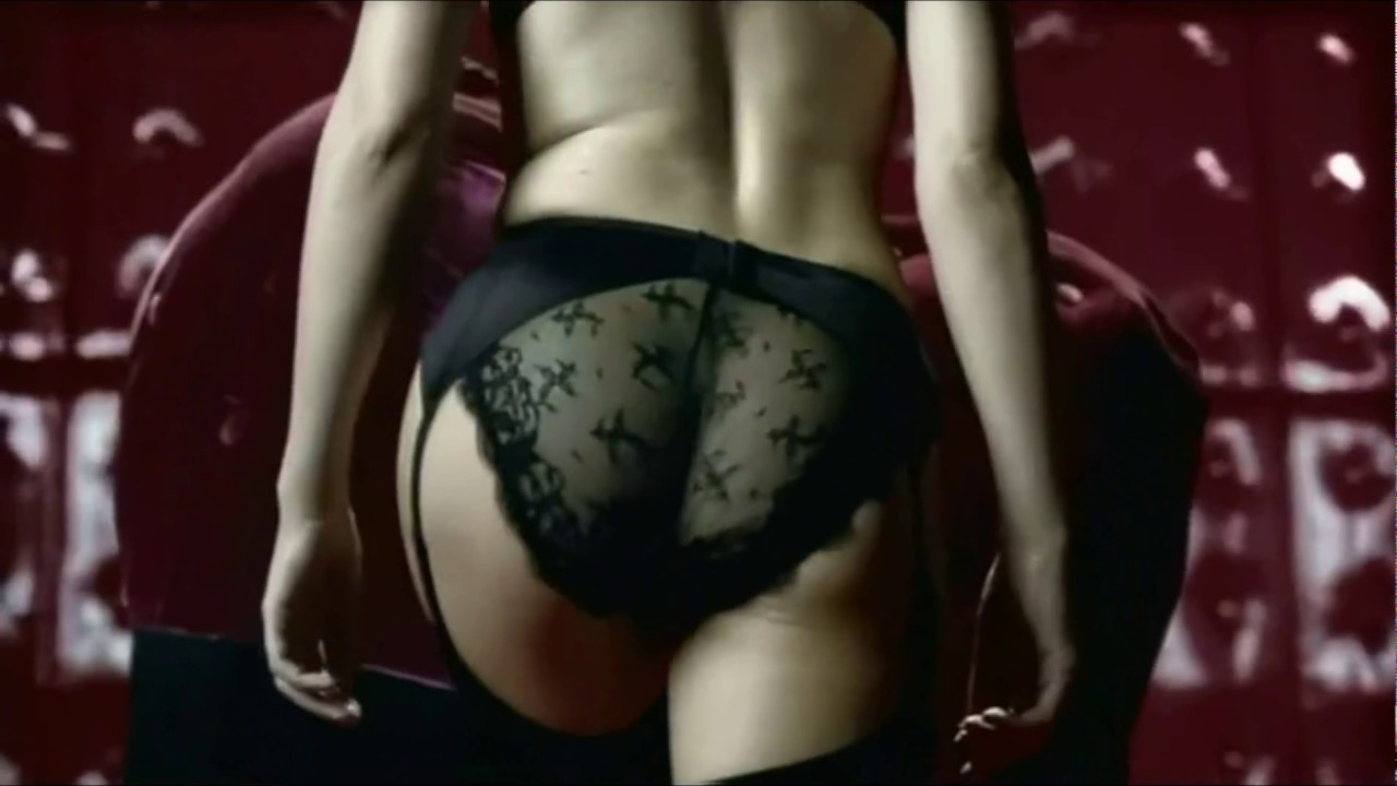 Kylie minogue lingerie commercial 1