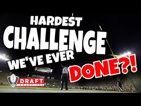 CAN WE WIN A GAME ONLY KICKING FIELD GOALS?! (ULTIMATE MADDEN 17 DRAFT CHAMPIONS CHALLENGE)