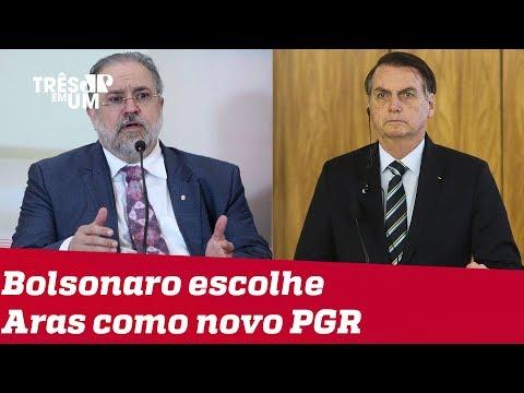 Augusto Aras é o novo Procurador-Geral da República