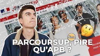 PARCOURSUP, PIRE QU'APB ?