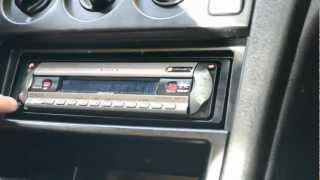 How to remove a car radio without special tools ( keys ) e.g. sony cdx-R3350