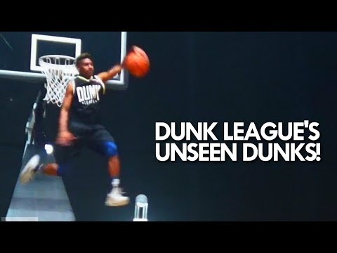 ULTIMATE DUNK CONTEST - Unseen Dunk League S1 - Insane DUNKS!
