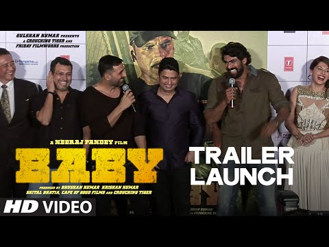 Exclusive: 'Baby' Trailer LAUNCH | Akshay Kumar | Neeraj Pandey | T-series