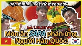 Đến thưởng thức những món Sa Pa tuyệt hảo~(thịt lợn, cà ri gà, cá hồi , súp bí ngô)