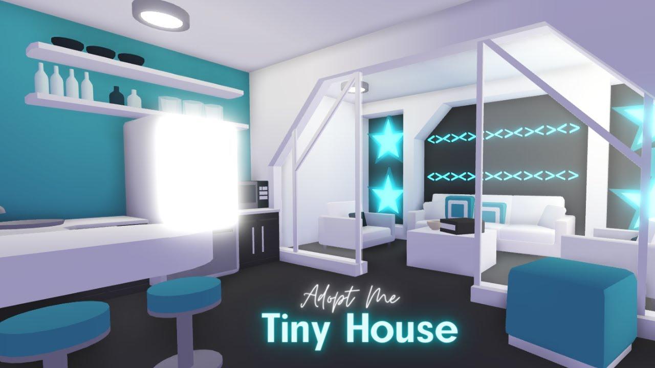 Adopt Me Speed Build Tiny House Roblox Youtube