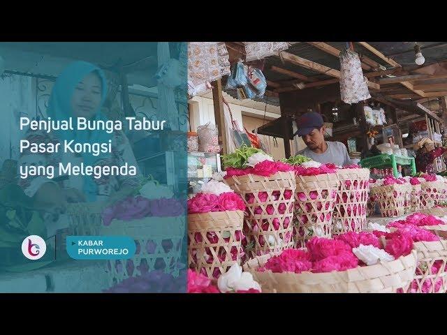 Penjual Bunga Tabur Pasar Kongsi yang Melegenda