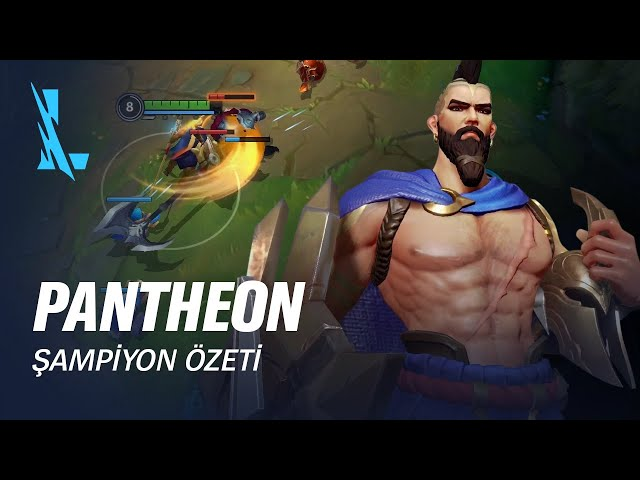 Pantheon Şampiyon Özeti | Oynanış - League of Legends: Wild Rift