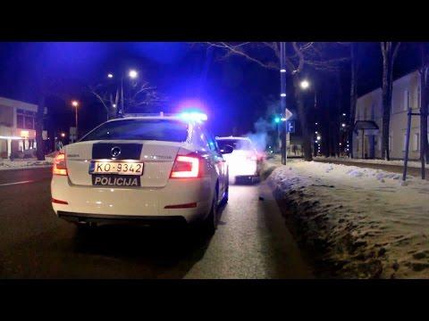 Ceļu Policijas darbs Latvijā / Работа Дорожной полиции Латвии (LV Subtitri)
