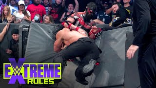 """Roman Reigns spears """"The Demon"""" through the barricade: WWE Extreme Rules 2021"""