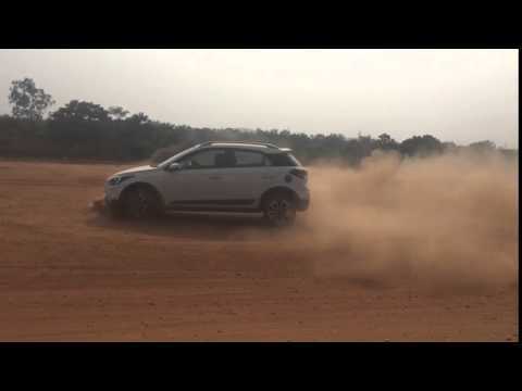 car stunt in rourkela
