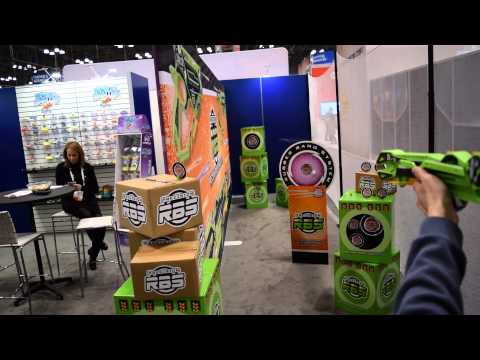 Toy Fair 2016: Precision RBS by SI (Next Level Rubber Band Blasters)