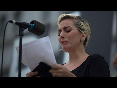 Lady Gaga Gives Emotional Speech to Honor Victims of Orlando Shooting at L.A. Vigil
