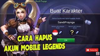 Cara Hapus Akun Mobile Legends (ML)