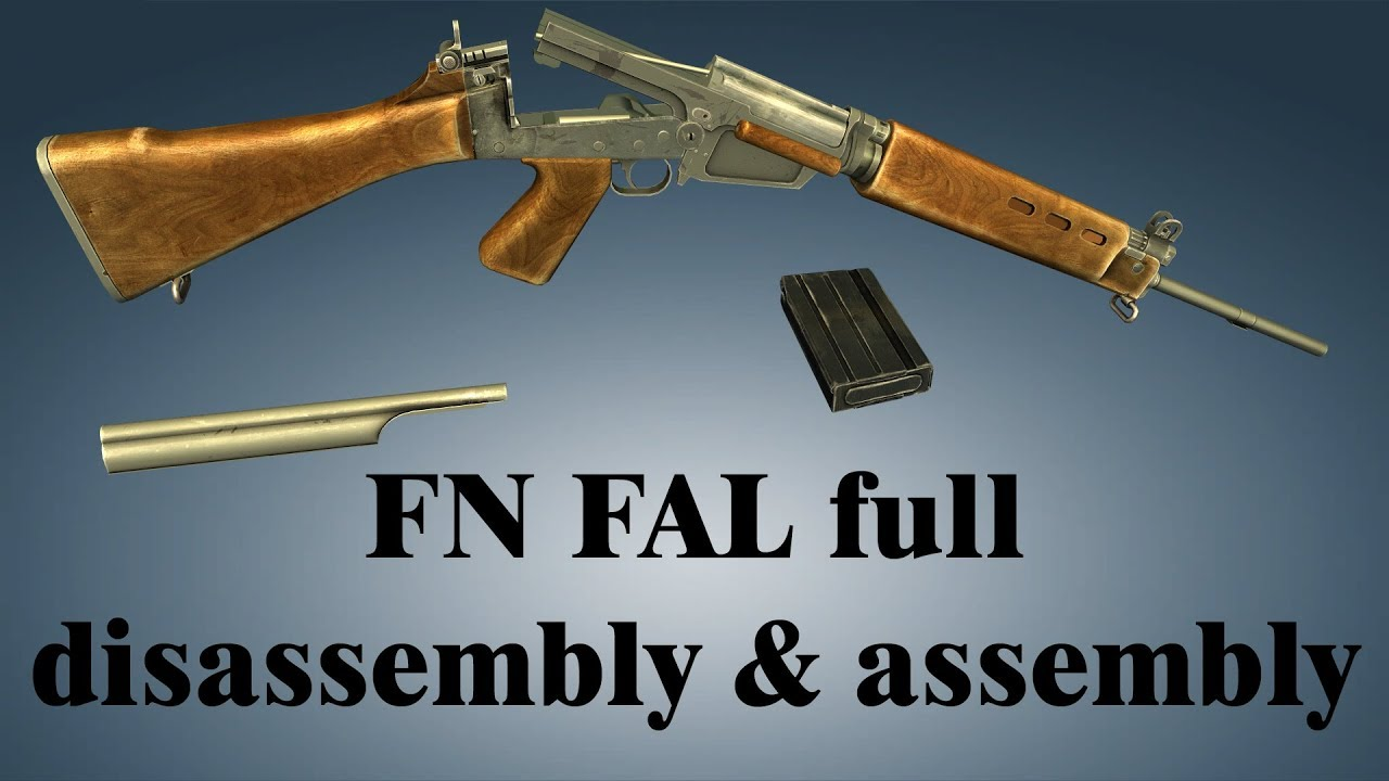 FN FAL: full disassembly & assembly